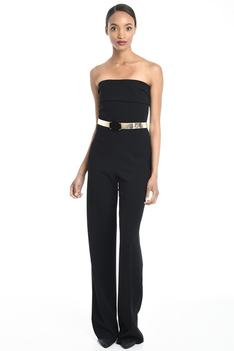 Strapless cady jumpsuit Diffusione Tessile