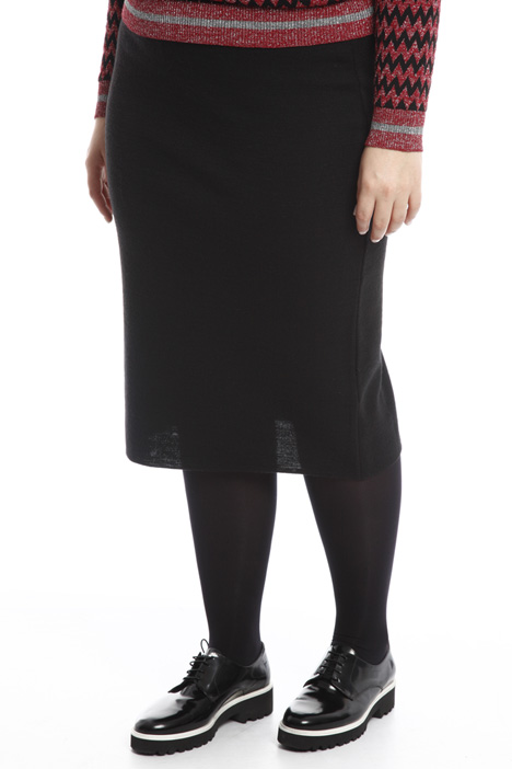 Knitted longuette skirt Diffusione Tessile