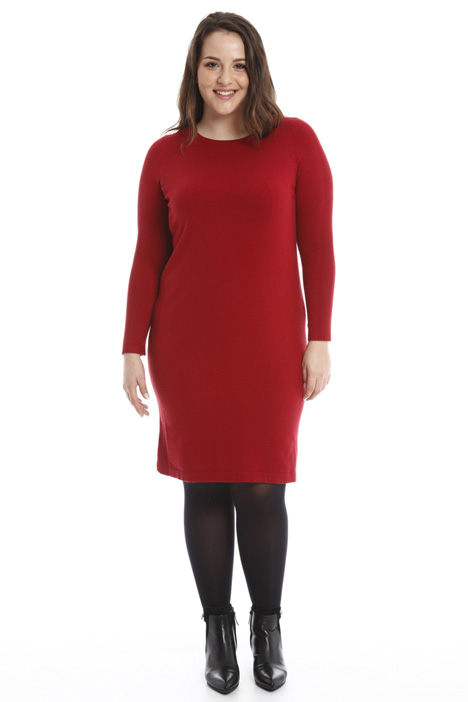 Knitted viscose dress Diffusione Tessile