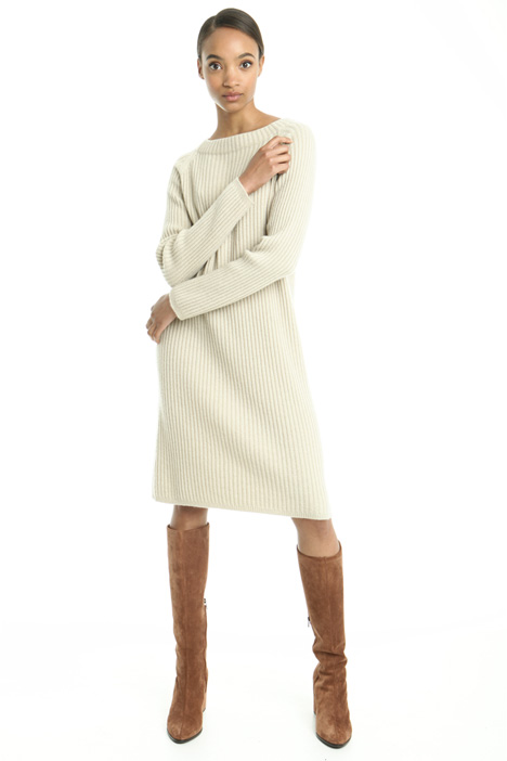 Ribbed cashmere dress Diffusione Tessile