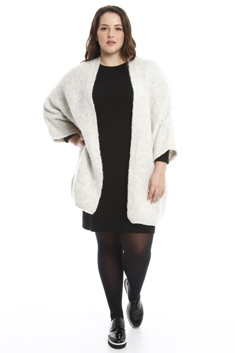 Mohair wool cardigan Diffusione Tessile