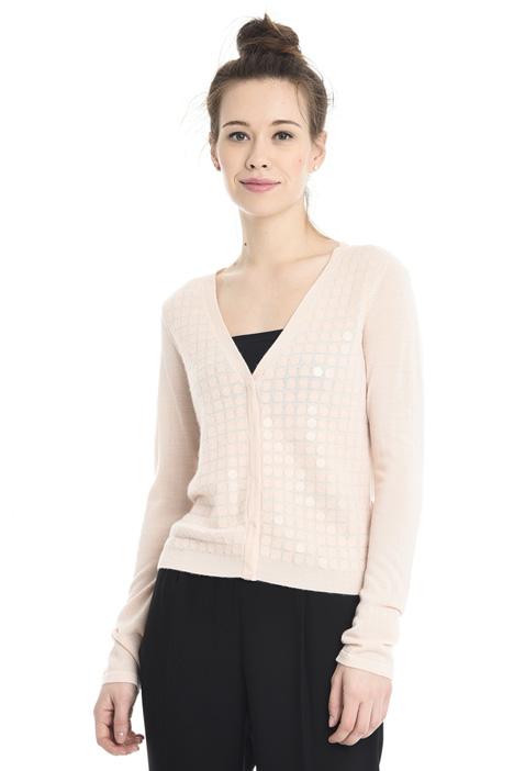 Cardigan leggero in lana Diffusione Tessile