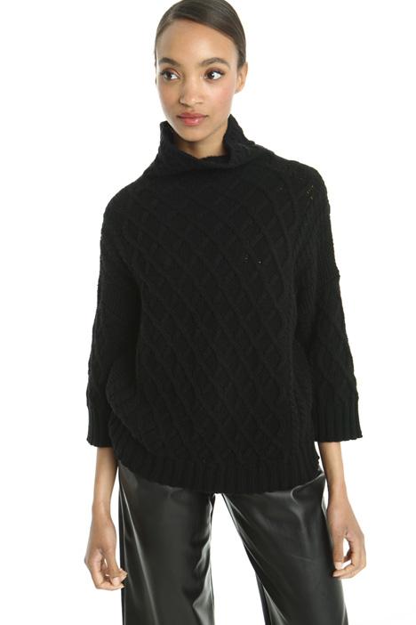 Maglia in lana misto cashmere Diffusione Tessile