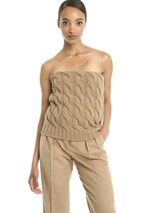 Top in maglia Diffusione Tessile