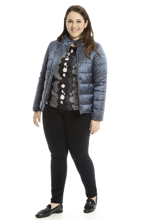 Fitted padded jacket Diffusione Tessile