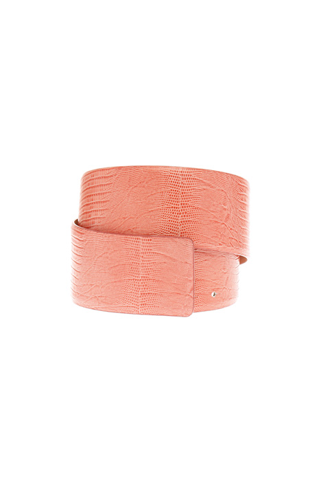 Cintura alta in pelle Diffusione Tessile