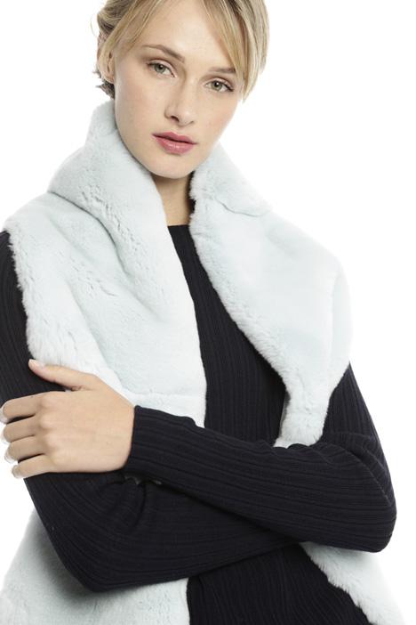 Lapin-fur scarf Diffusione Tessile