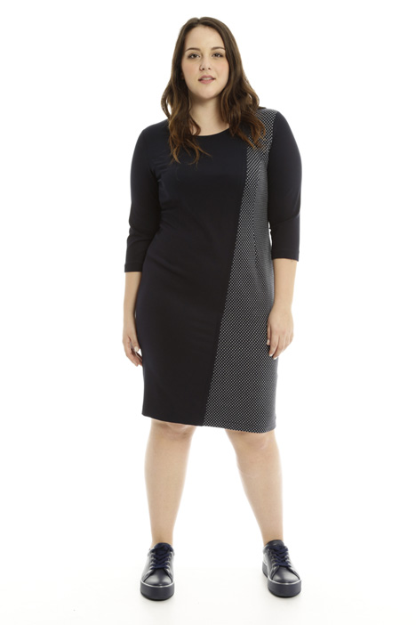Fitted jersey dress Intrend