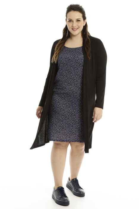 Cardigan-effect dress Intrend