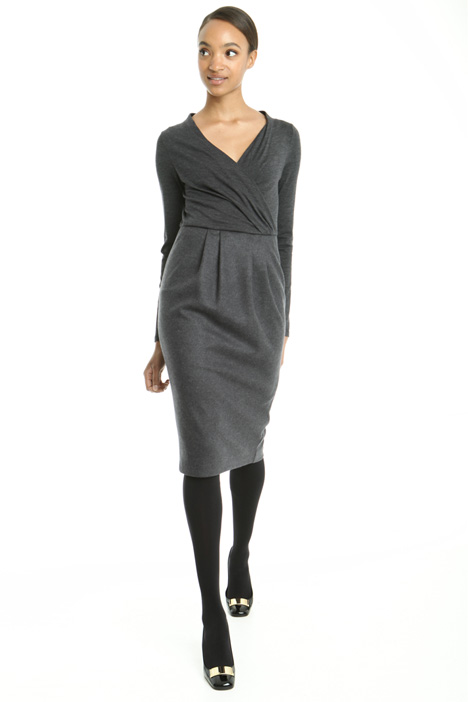 Wool sheath dress Diffusione Tessile
