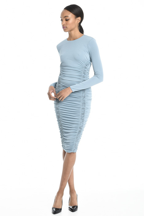 Stretch viscose dress Intrend