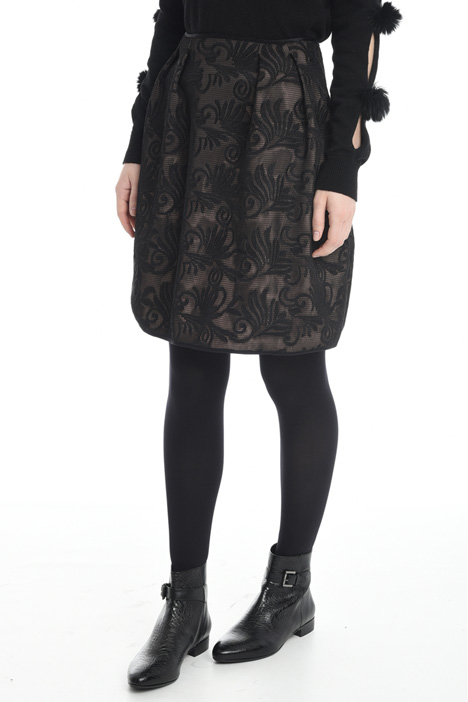 Embroidered net skirt Diffusione Tessile