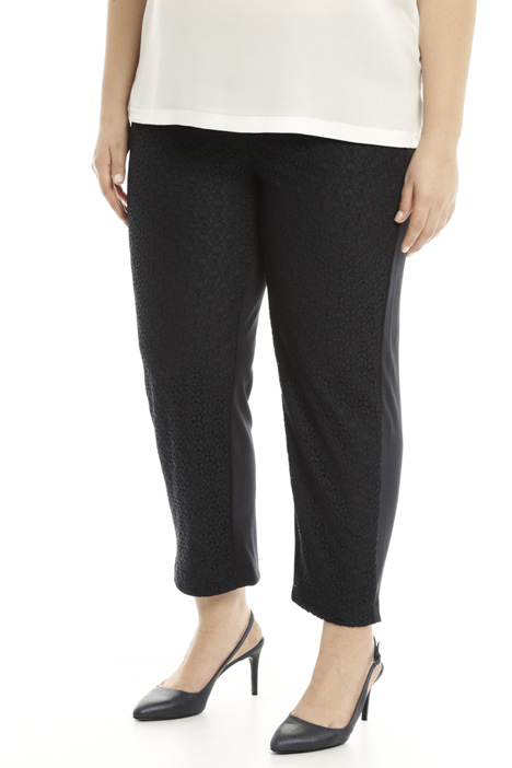 Stretch crepe trousers Diffusione Tessile