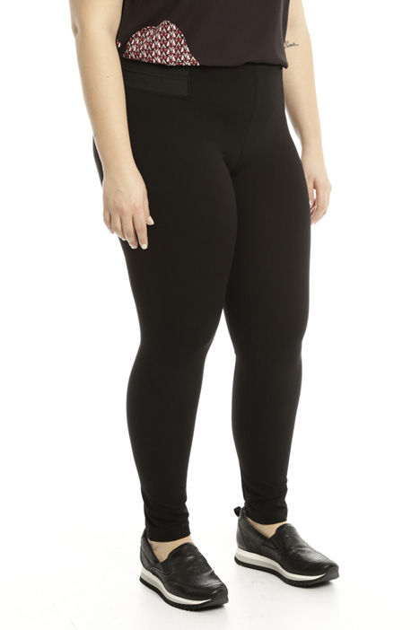 Leggings in compact jersey Diffusione Tessile
