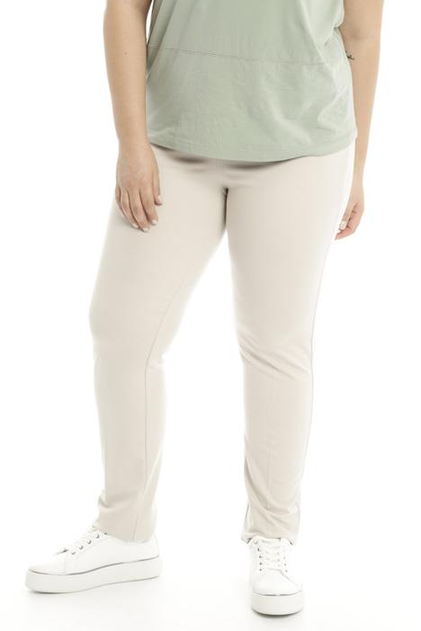 Pantalone sigaretta in jersey  Diffusione Tessile