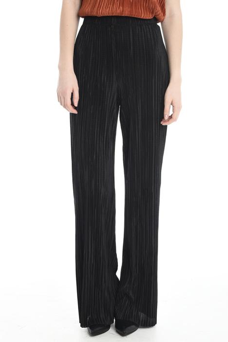 Pantalone in jersey plissé Diffusione Tessile
