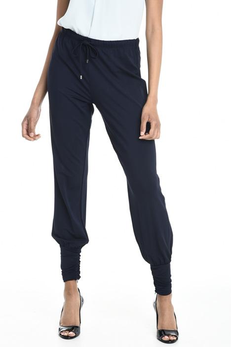 Viscose jogging-style trousers Diffusione Tessile