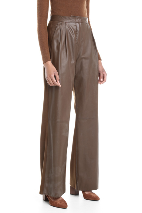 Jersey and leather trousers Diffusione Tessile