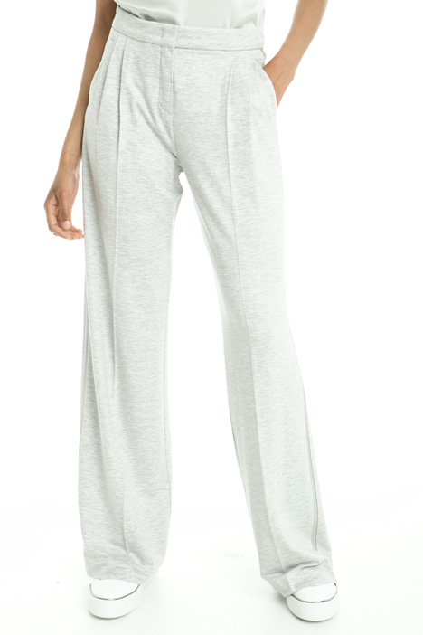 Wide-leg jersey trousers Diffusione Tessile