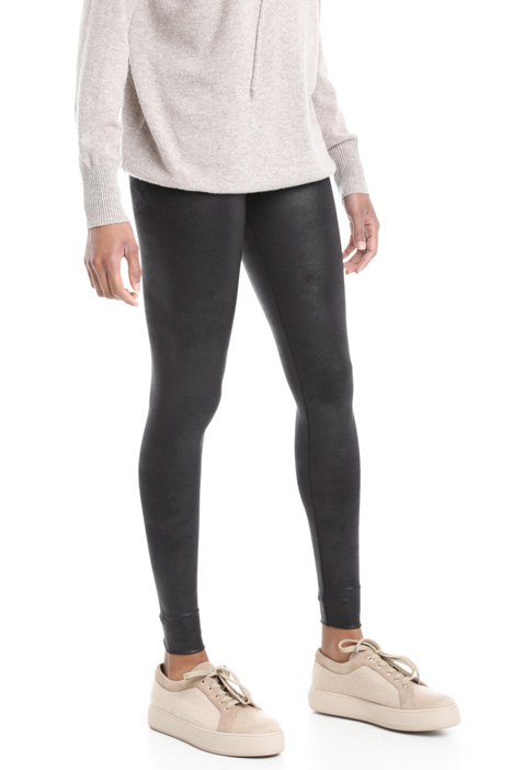 Coated leggings  Diffusione Tessile