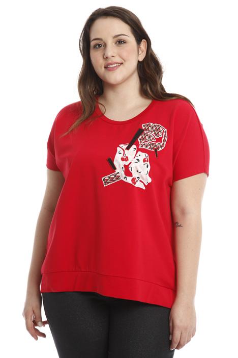 A-line cotton T-shirt Diffusione Tessile
