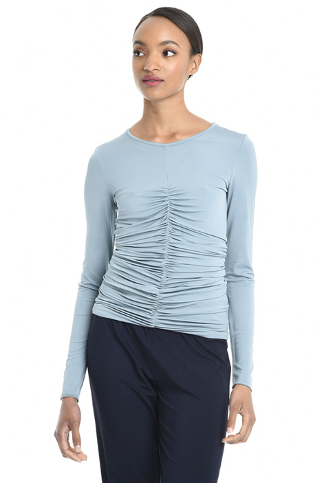 Top in jersey crepe Diffusione Tessile