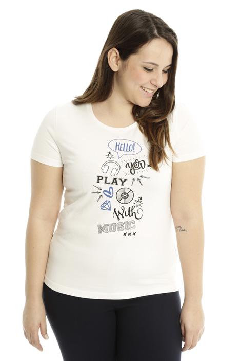 T-shirt in jersey di cotone Diffusione Tessile