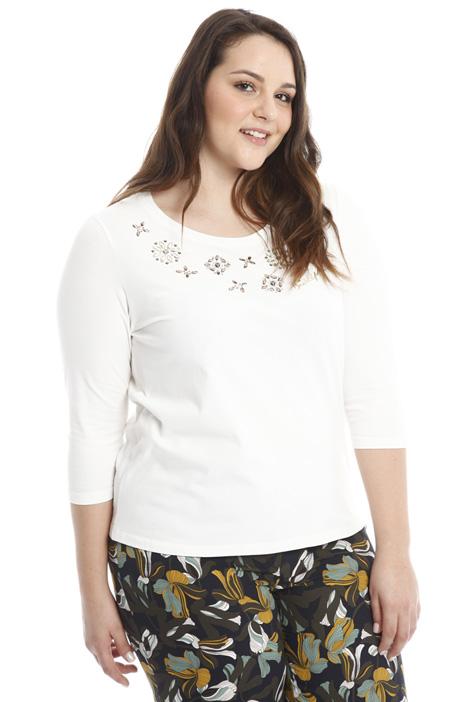 Rhinestone jersey T-shirt Diffusione Tessile