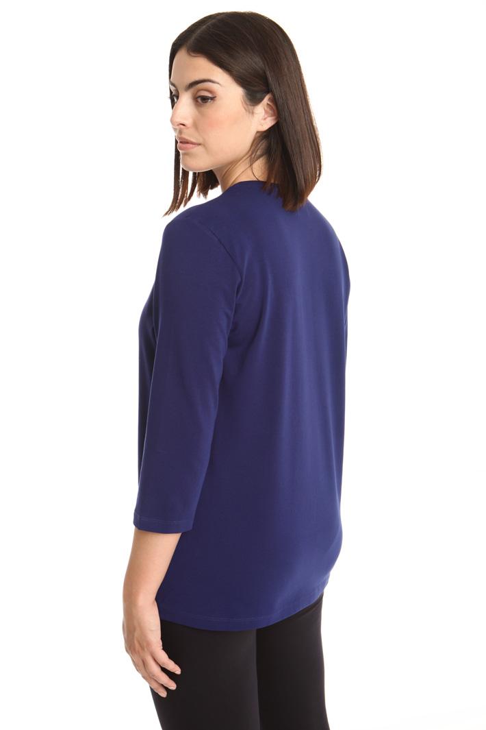 T-shirt in jersey con stampa  Diffusione Tessile