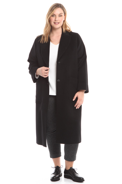 Pure wool drap coat Diffusione Tessile