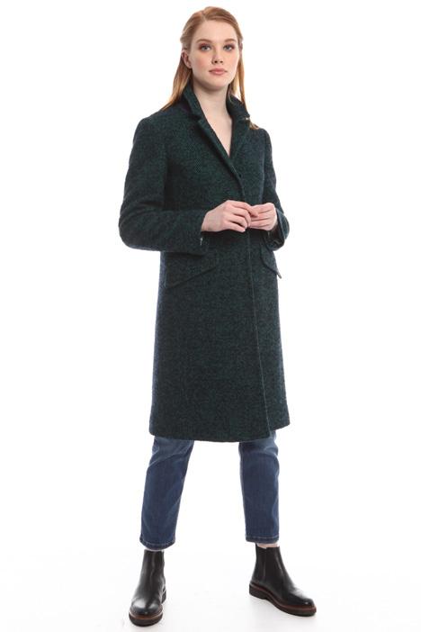 Cappotto effetto tweed Diffusione Tessile