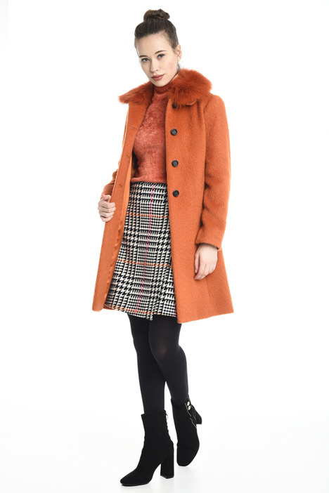 Mohair wool coat Diffusione Tessile