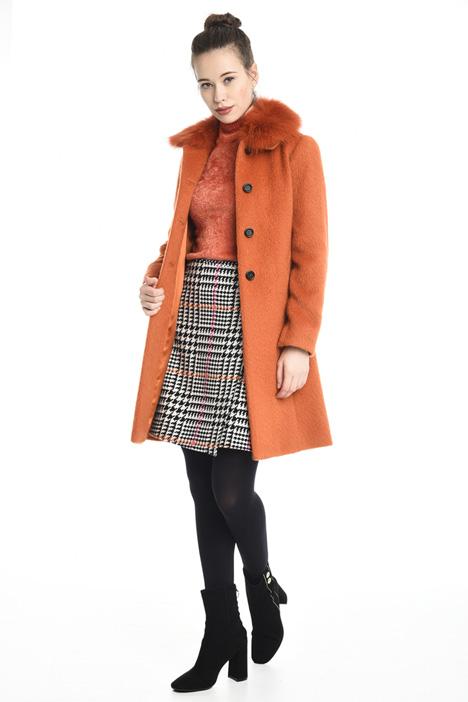 Cappotto in lana mohair Diffusione Tessile