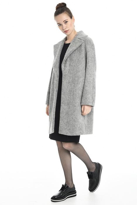 Cappotto in mouflon di lana Diffusione Tessile