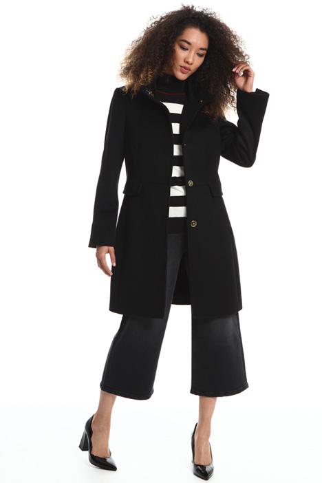 Wool velour coat Intrend
