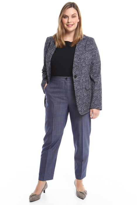 Stretch jacquard blazer Intrend