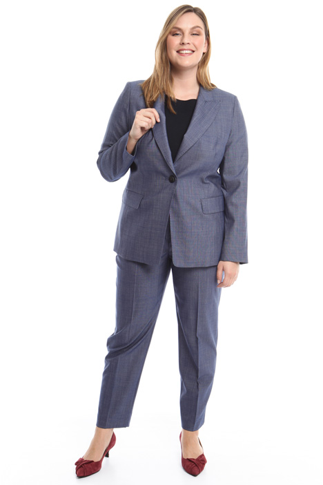 Yarn-dyed blazer Diffusione Tessile