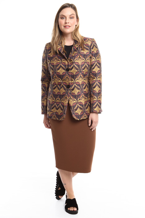Patterned blazer Diffusione Tessile
