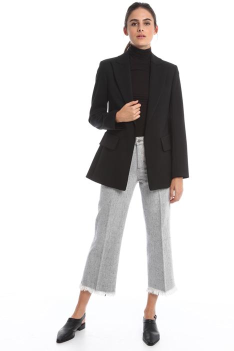 Wool gabardine blazer Diffusione Tessile