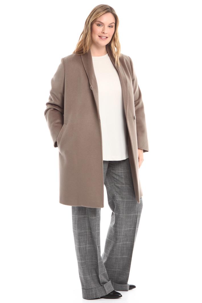 Cappotto in drap di pura lana Diffusione Tessile