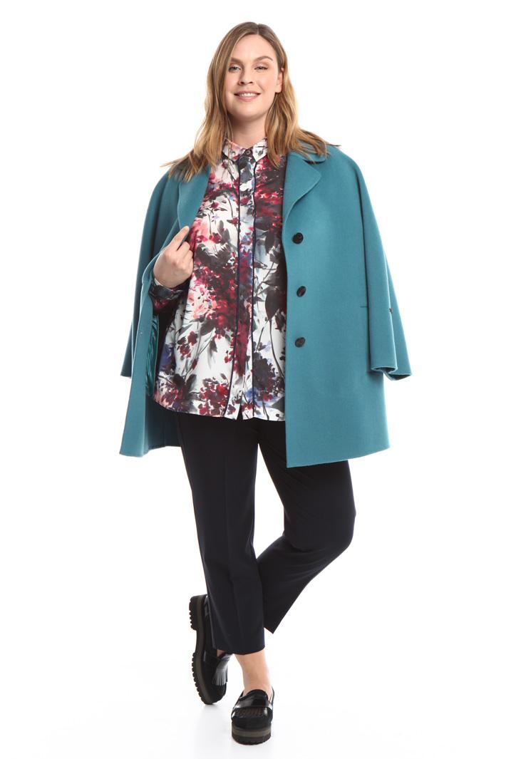 Cappotto in pura lana Diffusione Tessile