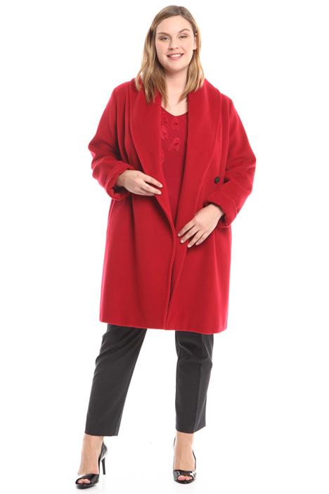 Shawl collar coat Diffusione Tessile