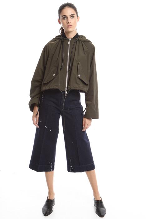 Boxy raincoat Diffusione Tessile