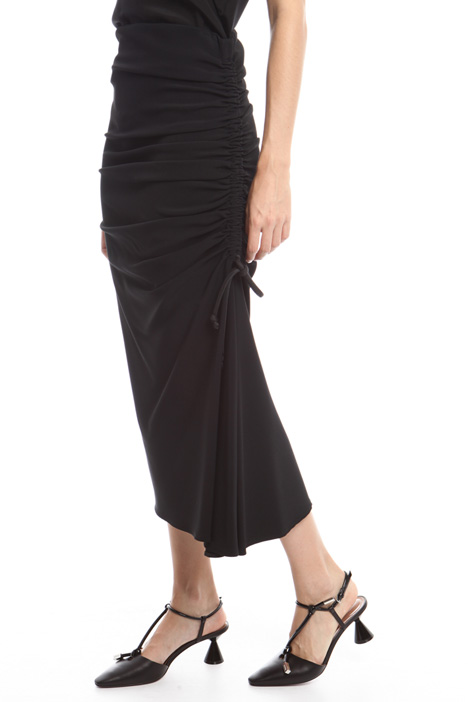Drawstring stretch skirt Diffusione Tessile