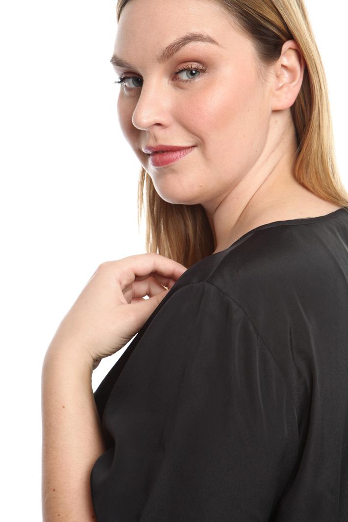 Casacca in tessuto crepe Diffusione Tessile