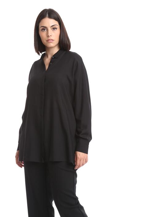 Camicia a kimono in lana fine Diffusione Tessile