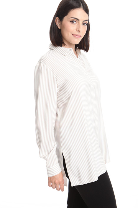 Silk poplin shirt Intrend