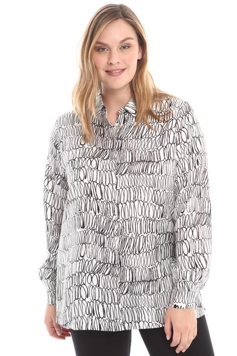 Camicia in twill stampato Diffusione Tessile