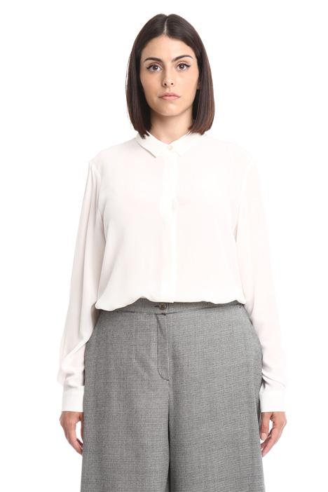 Camicia in seta con fusciacca Diffusione Tessile