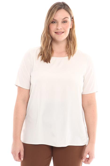 Blusa in crepe de chine Diffusione Tessile